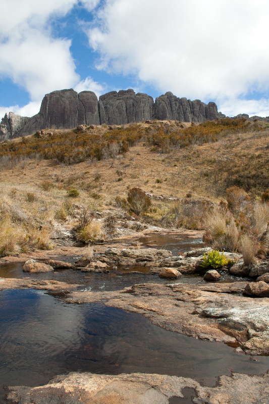 Andringitra mountains in Madagascar