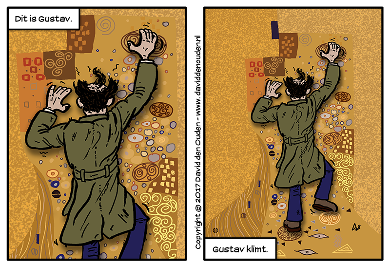 Strip: Dit is Gustav.