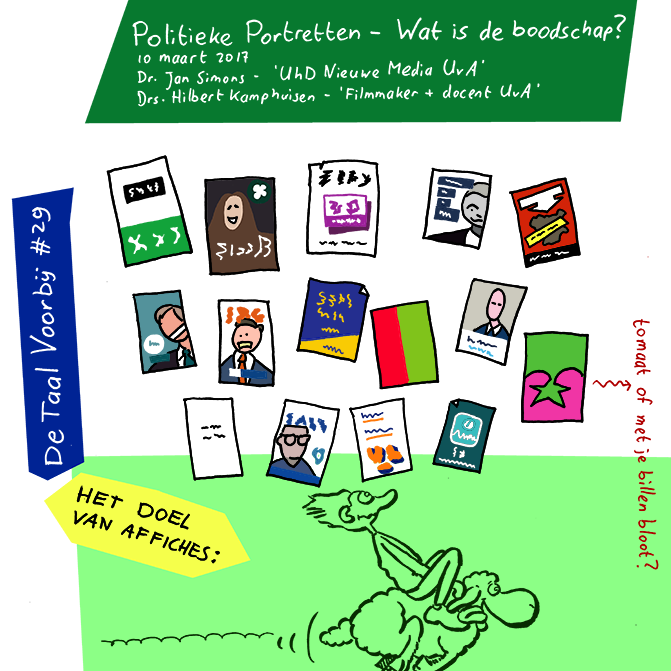 Preview - Beeldverslag: Instituut voor Beeldtaal - De taal voorbij #29: 'Verkiezingen - Wat is de boodschap?'