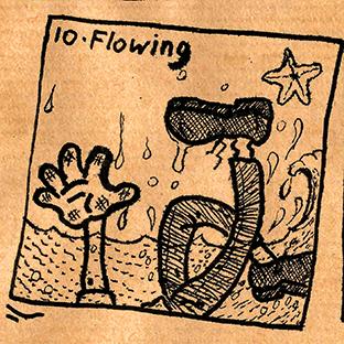 10. Flowing