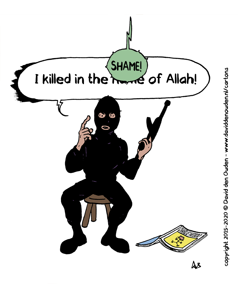 "Terrorist: ""I killed in the name of Allah""